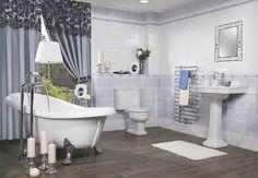 Výsledek obrázku pro romantická koupelna