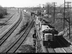 RailPictures.Net Photo: L&N 2766 Louisville & Nashville GE U23B at Montgomery, Alabama by David Harris