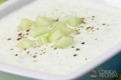 Receita de Sopa de iogurte com pepino - Comida e Receitas
