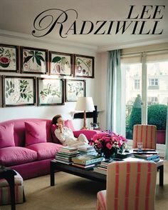 *GET HER LOOK* Lee Radziwill in her one bedroom flat in Paris.