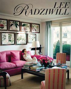 *GET HER LOOK* Lee Radziwill in her one bedroom flat in Paris.