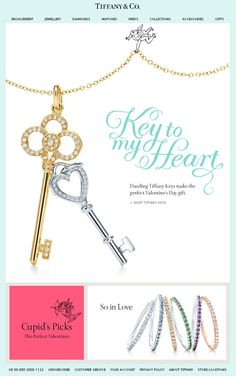 Tiffany & Co. Valentine's Email