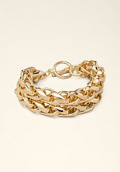Rope Chain Toggle Bracelet