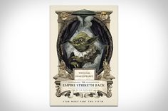 William Shakespeare's The Empire Striketh Back.