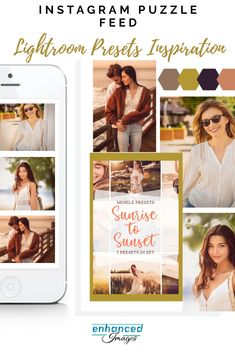 Make aesthetic design of your instagram puzzle feed inspired by our Lightroom Mobile Presets Aesthetic Design, Color Correction, Lightroom Presets, Mood Boards, Your Photos, Photo Editing, Sunrise, Puzzle, Inspired