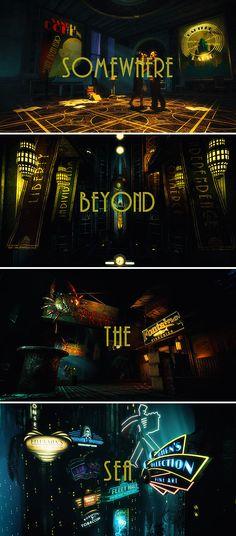 Bioshock 2, Bioshock Infinite, Bioshock Rapture, Bioshock Series, Sander Cohen, Underwater City, Night In The Wood, Beyond The Sea, Call Of Cthulhu