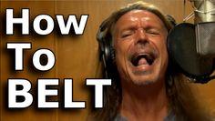 How to Belt - Ken Tamplin Vocal Academy To Learn More: http://KenTamplinVocalAcademy.com/ Singers Forums: http://forum.kentamplinvocalacademy.com/