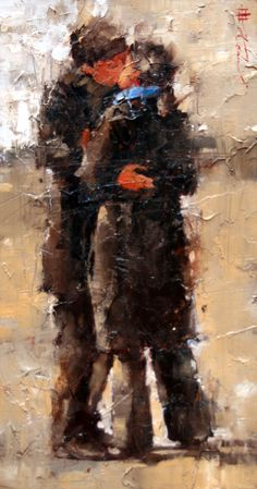 """Andre Kohn """"The Kiss"""""""
