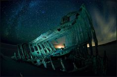 Beautiful Shipwreck