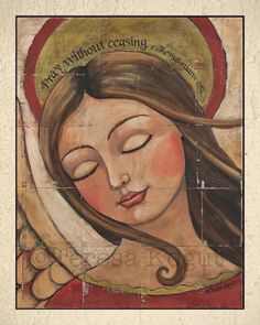 Enter for your chance to win this FREE angel print! Teresa's Creative Whims #print #angel #giveaway #FREE #art