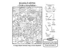 képkereső Search And Find, Hidden Pictures, Hidden Objects, Math Games, Printables, School, Puzzles, Kid Stuff, Children