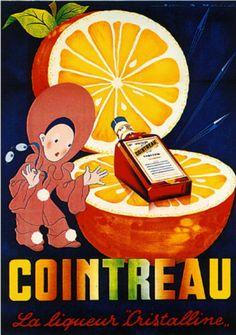 Cointreau-Liquor-Liqueur-French-European-Advertisement-Vintage-Art-Poster-Print