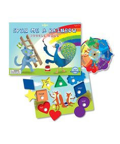 Take a look at this Spin Me a Rainbow Board Game by eeBoo on #zulily today!