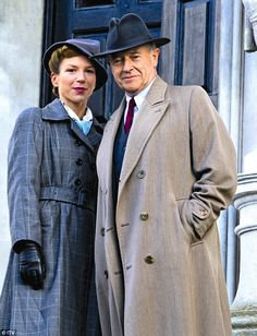 Foyle's War........YES... It is coming back. But why only 3 episodes. What a torture after all these years!
