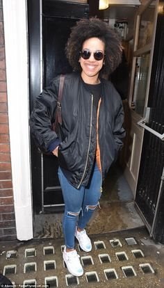 Beaming: New Doctor Who companion Pearl Mackie was met by a crowd of sci-fi fans as she left the Gielgud Theatre in London¿s West End following her performance in The Curious Incident Of The Dog In The Night-Time on Monday night