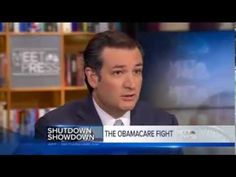 Sen. Ted Cruz Discusses Defunding Obamacare on Meet the Press