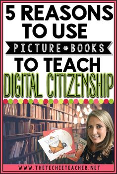 5 Reasons to Use Picture Books to Teach Digital Citizenship. This list of read aloud books is a great way to connect with students and have discussions about online safety, cyberbullying and so much more! Weave these lessons into your reading and language arts block. Technology in the classroom.