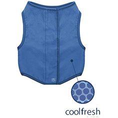 Go Fresh Pet Ice Vest Cooling Vest For Dogs L Find Out More