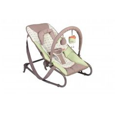 Bubble Baby Bouncer The ultra comfortable & compact bouncer ! Parents love this baby bouncer that is comfortable and easy to transport. It provides a safe place where baby can sleep soundly or whatch the rest of the family while you keep your hand-free. During playtime, baby will enjoy the removable and adjustable toy bar. Choose between natural swing or a fixed position.