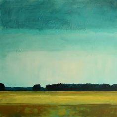 "Saatchi Art Artist Kai Hoge; Painting, ""after the rain"" #art"