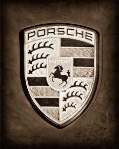 Porsche Emblem Canvas Print by Jill Reger Porsche 928, Porsche Cars, Porsche Logo, My Dream Car, Dream Cars, Canvas Prints, Art Prints, Cool Walls, Coat Of Arms