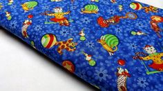 Items similar to Under The Big Top P&B Textiles OOP Childrens Kids Circus Cats Dogs Teddy Bears Balls Ducks Swings Fabric Quilting Fabrics Sewing on Etsy Big Top, Top P, Quilting Projects, Fabric Design, Dog Cat, Fabrics, Teddy Bear, Textiles, Quilts