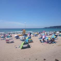 In midsummer of Tatado beach.