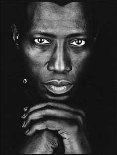 Wesley Trent Snipes, He has been training in martial arts since the age of earning a dan black belt in Shotokan Karate. Famous Men, Famous Faces, Famous People, Blade Film, African American Actors, Wesley Snipes, Film Trilogies, Black Actors, Martial Artists
