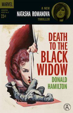 Black Widow Noir Poster