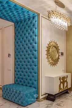 Bed Headboard Design, Bedroom Bed Design, Bedroom Furniture Design, Home Decor Furniture, Home Decor Bedroom, Living Room Sofa Design, Home Room Design, Living Room Designs, Upholstered Walls