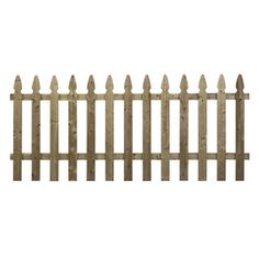 "Wood Fencing Spaced Picket French Gothic 42"" X 8' Pressure Treated 53960"