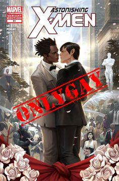 #Curiosità –  NOZZE GAY IN CASA MARVEL  E oggi #Only#Gay rispolvera un vecchio matrimonio targato X-Men.  Forse non lo sapevate, ma nel 2012, il 20 giugno precisamente, eravamo Tutti invitati a New York, in una Central Park in grande stile.  #OnlyGay vi da appuntamento alla prossima fuoriuscita di notizie!