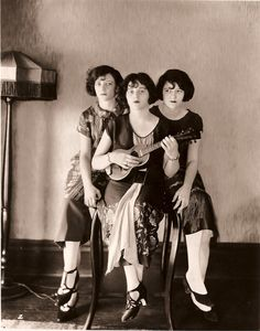 the Boswell sisters, legendary jazz vocalist group
