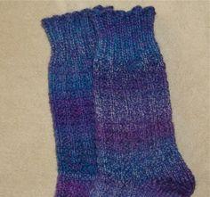 My loom socks instructions