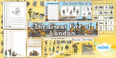 PlanIt - History - The Great Fire of London Unit Additional Resources Primary Resources, School Resources, The Fire Of London, Key Stage 1, The Great Fire, Cross Curricular, Seven Years Old, Grand Designs, Year 2