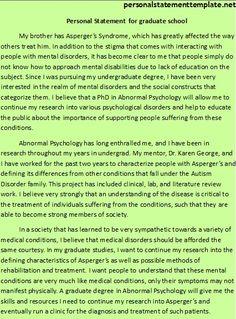 Personal statement human biology