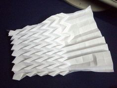 Origami Waves/Water | Flickr - Photo Sharing!
