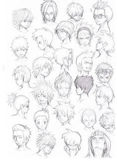 45 Best Anime Hairstyles Male Images Anime Hairstyles