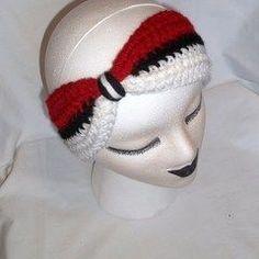 Pokeball Winter Headband Ear Warmer