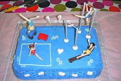 gymnastic cakes | this year my baby girl asked me for a gymnastic cake she is truly ...