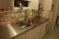 5 Ways To Do Stainless Steel Counter Tops In Your Kitchen   Retro Renovation