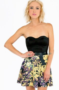 #Tobi                     #Skirt                    #Midnight #Floral #Skater #Skirt                    Midnight Floral Skater Skirt $40                                              http://www.seapai.com/product.aspx?PID=1222059