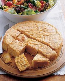 Oh, *Martha*. Custard-filled cornbread? Really, you shouldn't have.