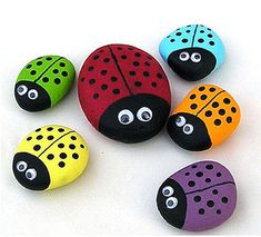 Ladybug Rocks kids paint crafty kids crafts ladybug crafts for kids summer activities summer activities for kids kids activities for summer kids crafts for summer sidewalk paint Kids Crafts, Summer Crafts For Kids, Spring Crafts, Crafts To Do, Art For Kids, Craft Projects, Arts And Crafts, Art Children, Summer Kids