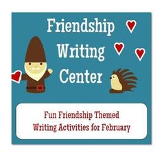 Friendship themed writing activities for February. Lots of flexible writing templates that can be used all year. 2nd Grade Classroom, 2nd Grade Math, Kindergarten Classroom, Second Grade, Classroom Ideas, Fourth Grade, Summer Programs For Kids, School Plan, School Ideas