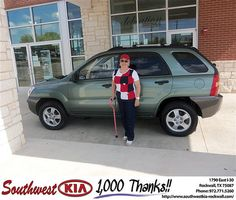 Happy Anniversary to Laura Pollard on your 2007 #Kia #Sportage from Larry Upton and everyone at Southwest KIA Rockwall! #Anniversary