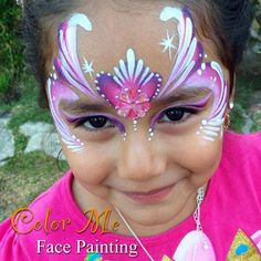 Princess Face Painting - Color Me Face Painting #princess #facepainting #colormefacepainting