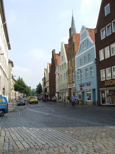 Luneberg, Germany. This town is adorable!