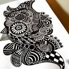 Image result for doodling zentangle