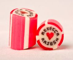 Personalized Hard Candy as a wedding favor